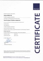 zertifikat ko-tex standard 1000 2012 e